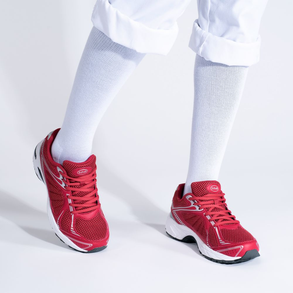 Scholl New Sprinter Red Sneakers